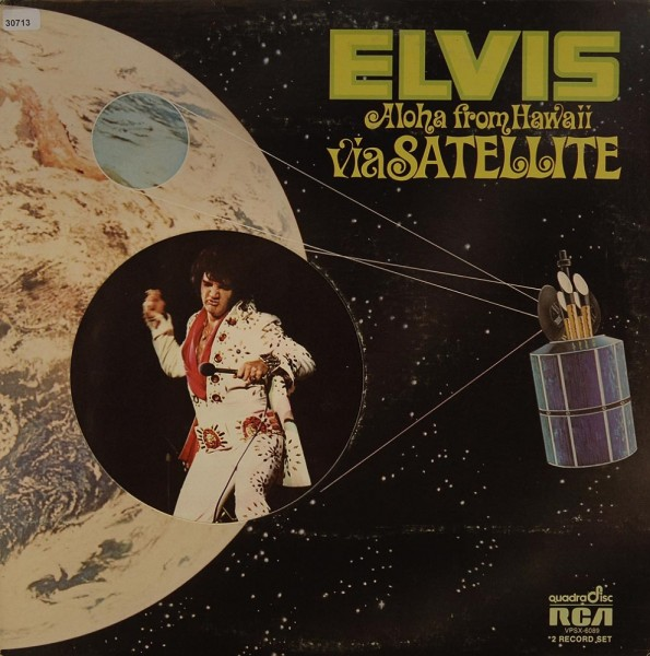 Presley, Elvis: Aloha from Hawaii via Satellite