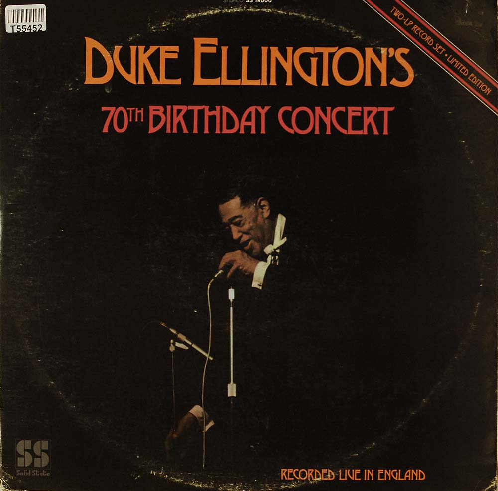 duke ellington duke ellington 39 s 70th birthday concert. Black Bedroom Furniture Sets. Home Design Ideas