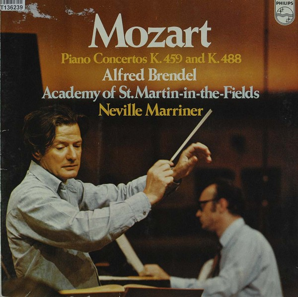 Wolfgang Amadeus Mozart - Alfred Brendel, Th: Piano Concertos K. 459 & K. 488