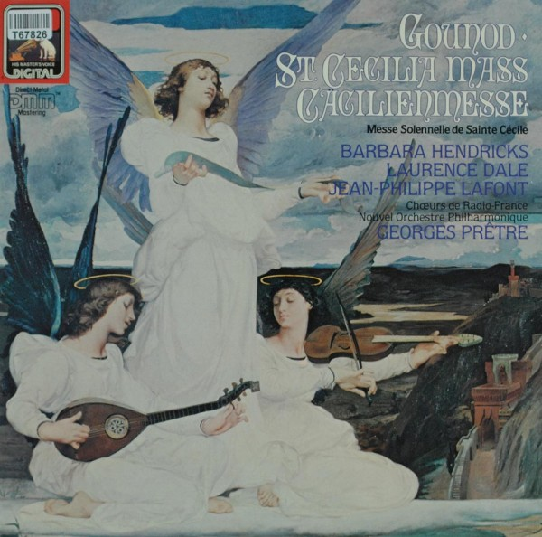 Charles Gounod : Barbara Hendricks, Laurenc: St. Cecilia Mass = Cäcilienmesse = Messe Solennelle De