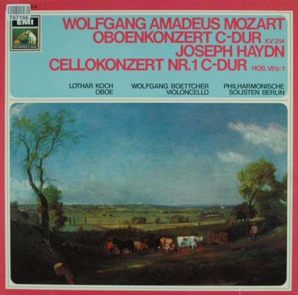 Wolfgang Amadeus Mozart - Joseph Haydn - Wo: Oboenkonzert C-Dur / Cellokonzert C-Dur