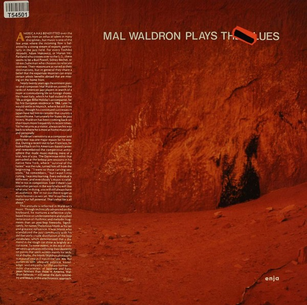 Mal Waldron: Plays The Blues