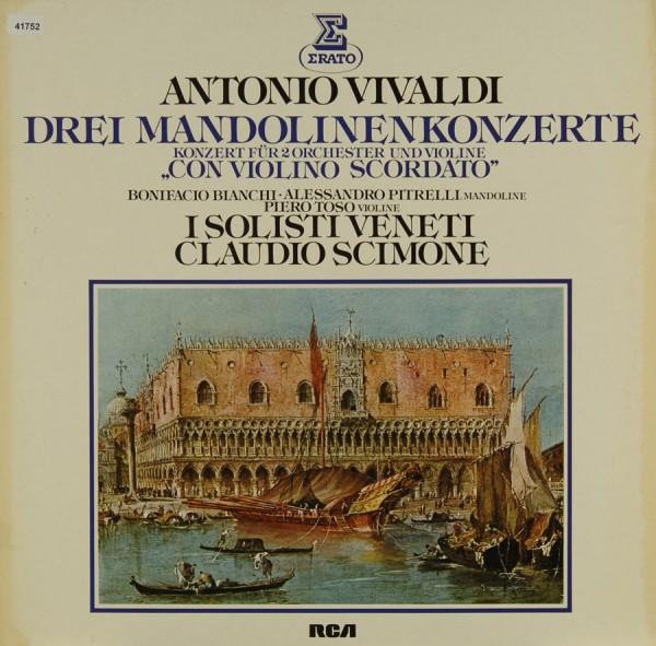 Vivaldi: Drei Mandolinenkozerte