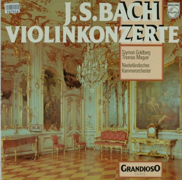 Johann Sebastian Bach, Szymon Goldberg, Tho: Violinkonzerte