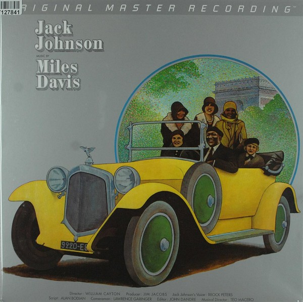 Miles Davis: Jack Johnson (Original Soundtrack Recording)