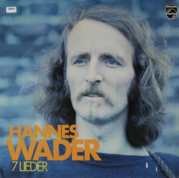 Wader, Hannes: 7 Lieder