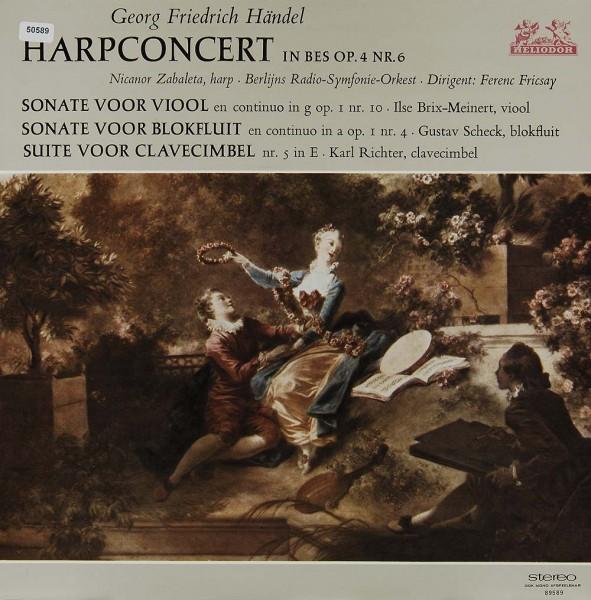 Händel: Harpconcert in Bes op. 4 Nr. 6