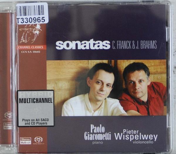 César Franck & Johannes Brahms - Paolo Giaco: Sonatas