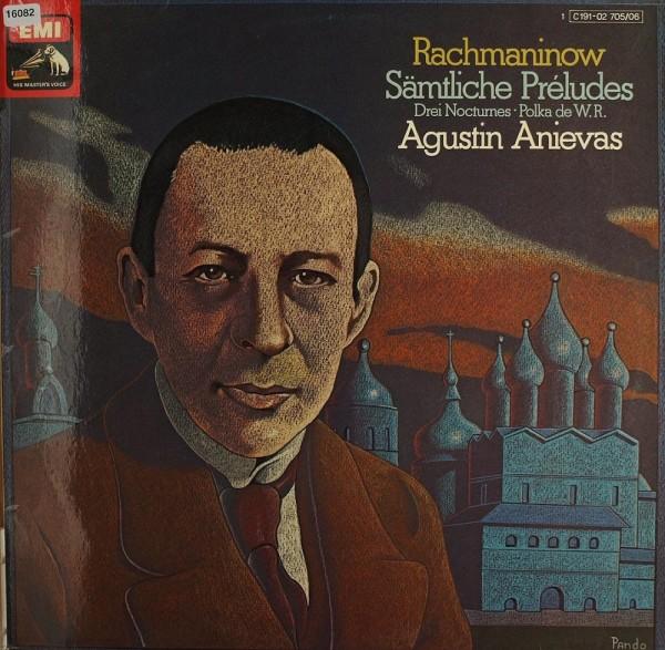 Rachmaninoff: Sämtliche Préludes (Augustin Anievas)