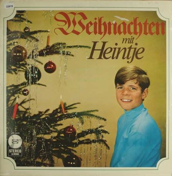Heintje: Weihnachten mit Heintje