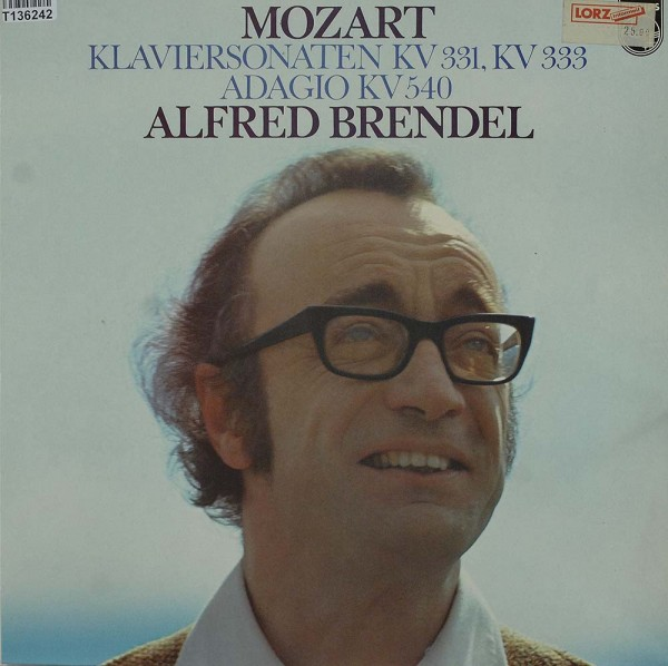 Wolfgang Amadeus Mozart - Alfred Brendel: Piano Sonatas, K. 331, K. 333 / Adagio, K. 540