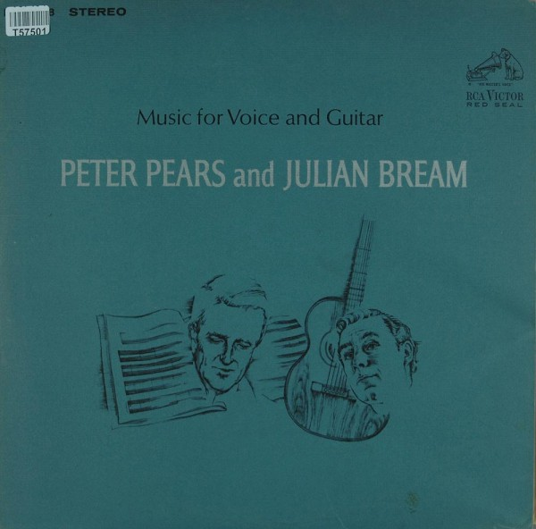Peter Pears And Julian Bream: Music For Voice And Guitar