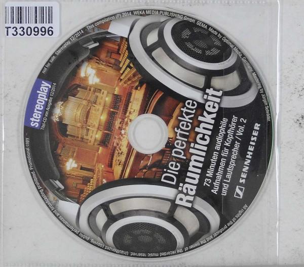 Various: Die perfekte Räumlichkeit Vol. 2 (16 Audiophile Aufnahme