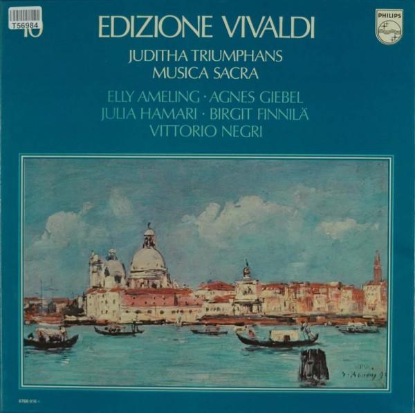Antonio Vivaldi, Elly Ameling, Agnes Giebel, Julia Hamari, Birgit Finnilä, Vittorio Negri: Juditha T