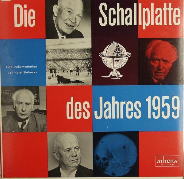 Verschiedene: Schallplatte d. J. 1959 - Chronik von H. Siebecke