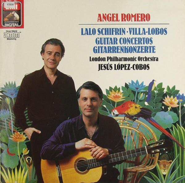 Schifrin / Villa-Lobos: Guitar Concertos