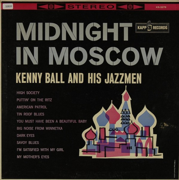 Ball, Kenny & his Jazzmen: Midnight in Moscow