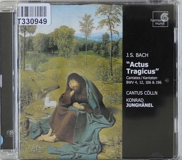 """Johann Sebastian Bach - Cantus Cölln, Konrad: """"Actus Tragicus"""" Cantates / Kantaten BWV 4, 12, 106 &"""