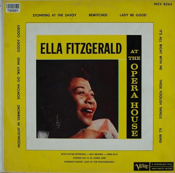 Ella Fitzgerald: Ella Fitzgerald At The Opera House