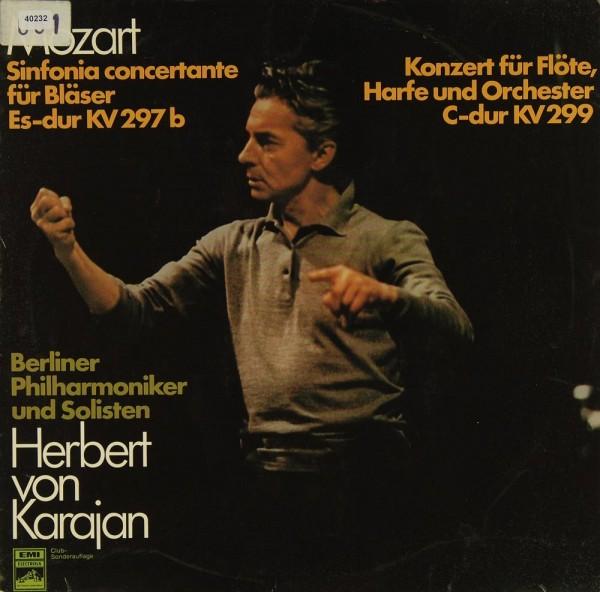 Mozart: Sinfonia Concertante / Konzert für Flöte, Harfe...