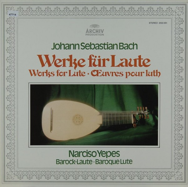 Bach: Werke für Laute