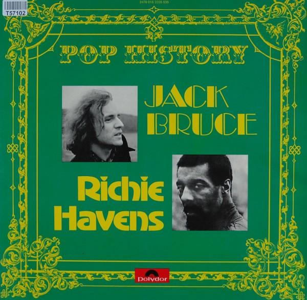 Jack Bruce, Richie Havens: Pop History