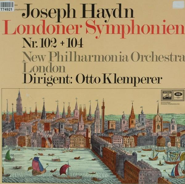 Joseph Haydn, Otto Klemperer, New Philharmon: Londoner Symphonien Nr. 102 + 104