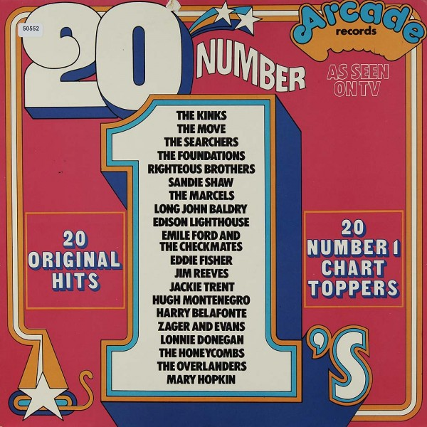 Various: 20 Number 1´s