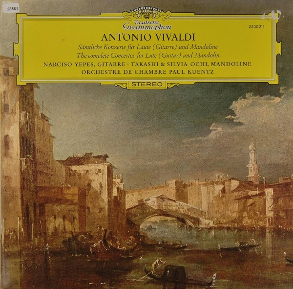Vivaldi: Sämtliche Konzerte für Laute und Mandoline