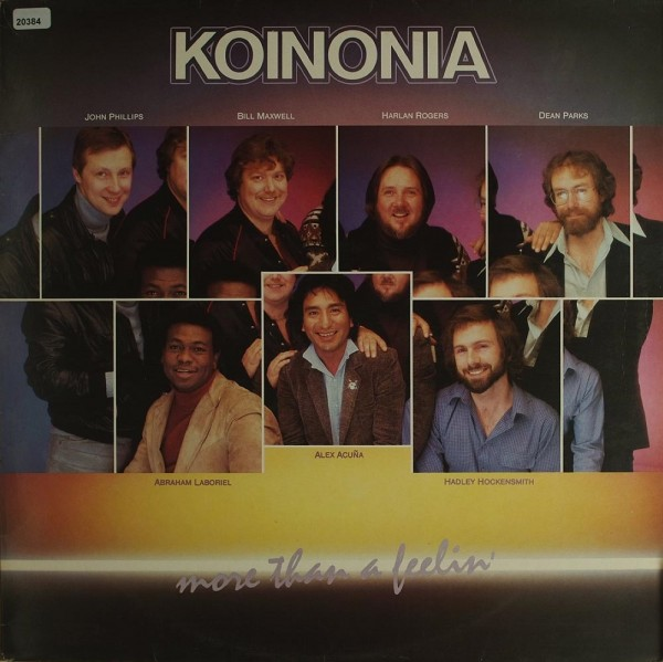 Koinonia: More than a Feeling