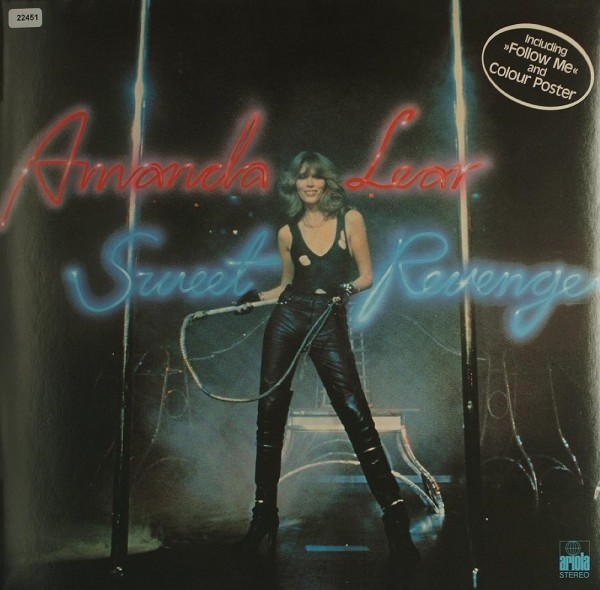 Lear, Amanda: Sweet Revenge