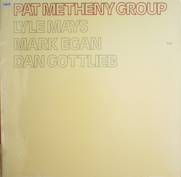 Metheny, Pat Group: Same