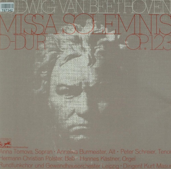 Ludwig van Beethoven: Missa Solemnis D-dur Op. 123