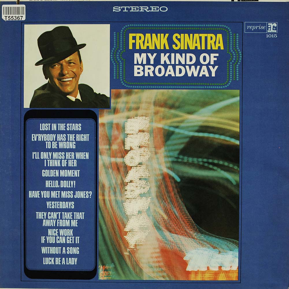 frank sinatra my kind of broadway swing jazz blues gebrauchte lps und cds kaufen. Black Bedroom Furniture Sets. Home Design Ideas