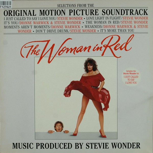 Stevie Wonder: The Woman In Red (Selections From The Original Motion Pi