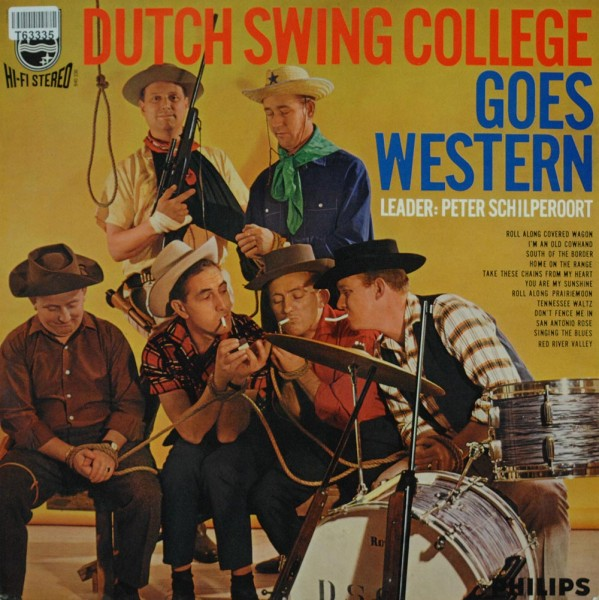 The Dutch Swing College Band: Dutch Swing College Goes Western