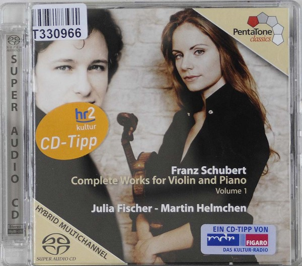 Franz Schubert - Julia Fischer , Martin Helm: Complete Works For Violin And Piano, Volume 1