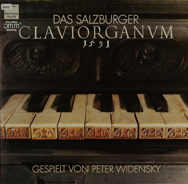 Widensky, Peter: Das Salzburger Claviorganum