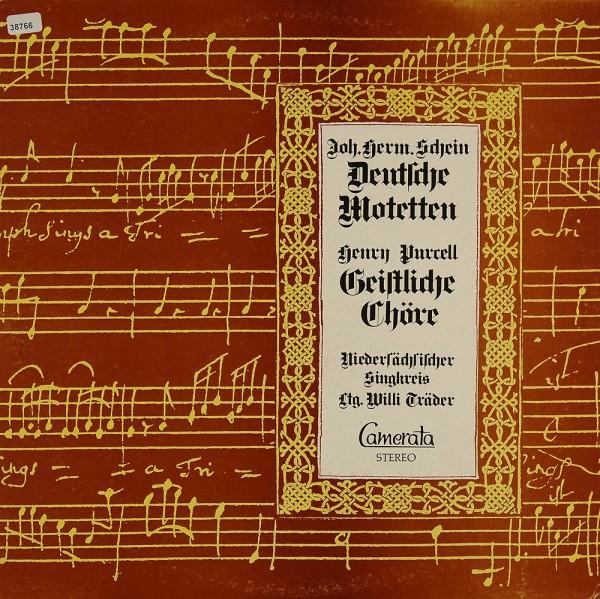 Schein / Purcell: Deutsche Motetten / Geistliche Chöre