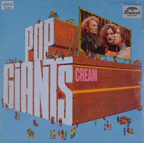 Cream: Pop Giants, Vol. 17
