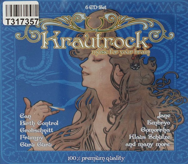 Various: Krautrock - Music For Your Brain,Vol. 1