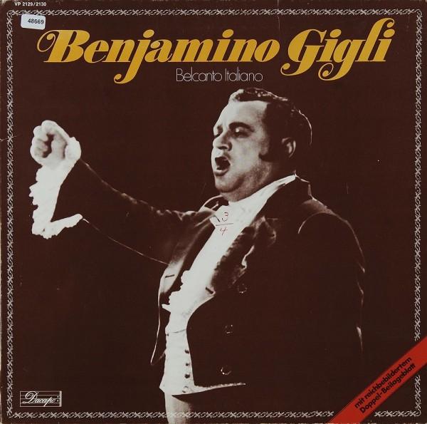 Gigli, Benjamino: Belcanto Italiano