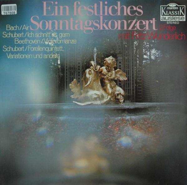 Fritz Wunderlich, Johann Sebastian Bach, Fr: Ein Festliches Sonntagskonzert (2. Folge)