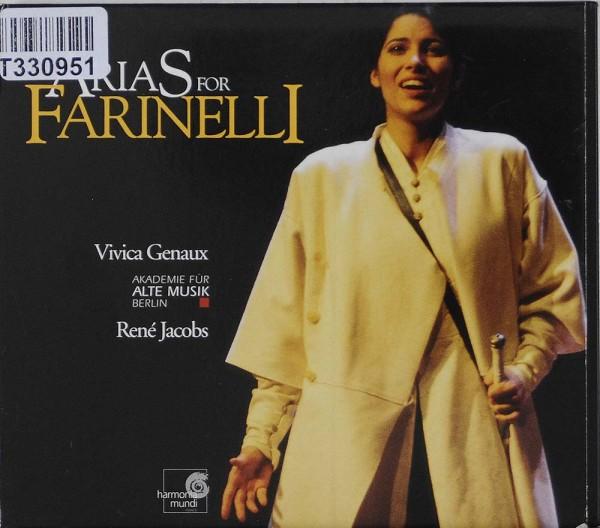 Vivica Genaux / Akademie Für Alte Musik Berl: Arias For Farinelli